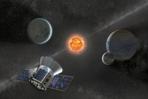 Спутник TESS обнаружил три горячих планеты в системе молодой звезды