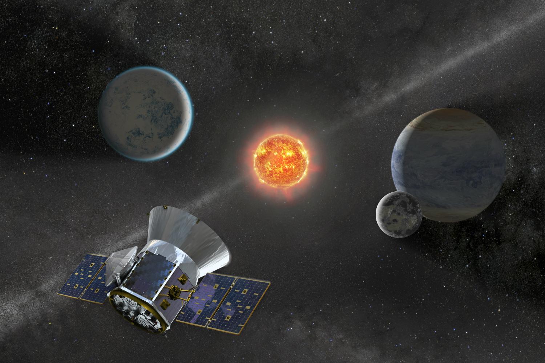 Спутник TESS обнаружил три горячих планеты в системе молодой звезды.Вокруг Света. Украина