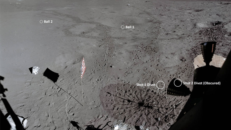 На Луне нашли мячи для гольфа.Вокруг Света. Украина