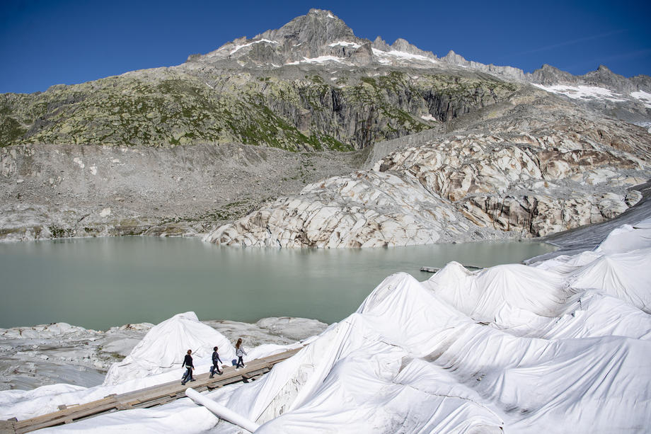 альпийские ледники