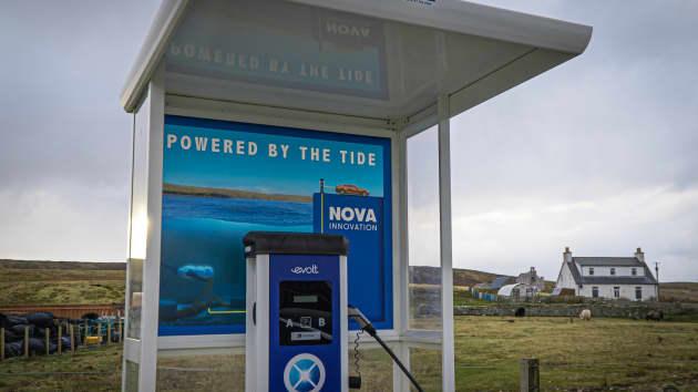 В Шотландии электрокары заряжают от приливов