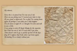 В английском отеле обнаружили любовные письма времен Второй мировой