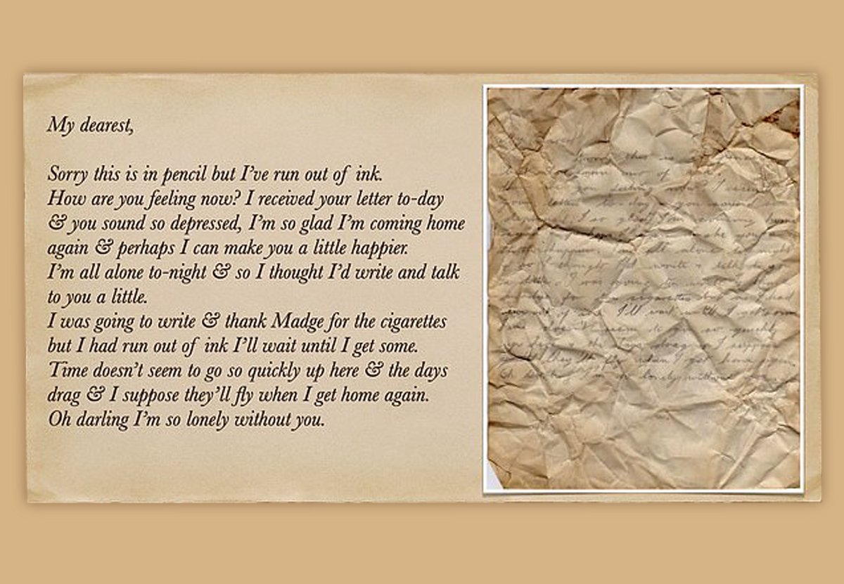 В английском отеле обнаружили любовные письма времен Второй мировой.Вокруг Света. Украина