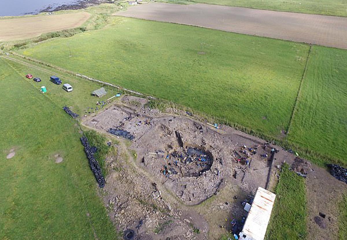 В Шотландии обнаружили свидетельства массового фуршета V века.Вокруг Света. Украина