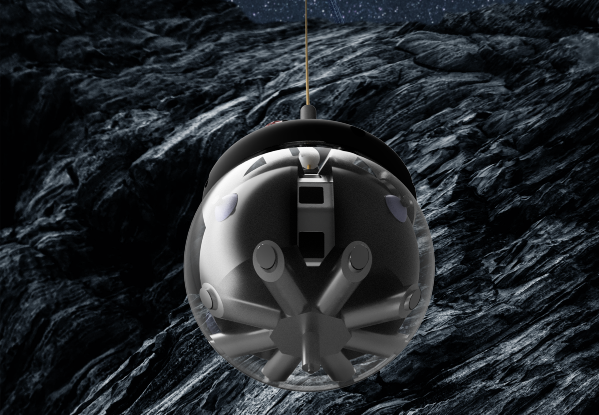 Шаровидный робот ESA будет зондировать и картировать лунные пещеры