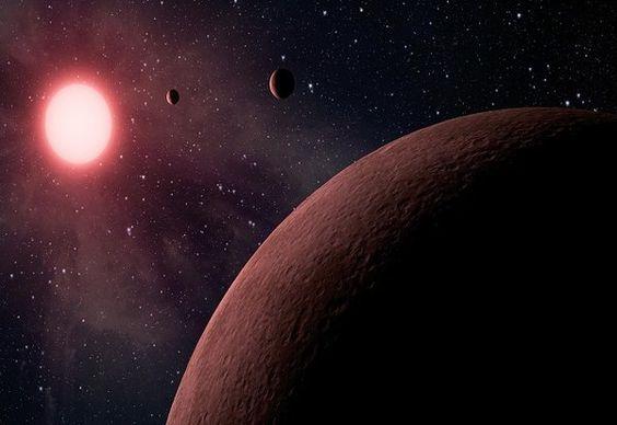Горячие скалистые экзопланеты могут иметь богатую водой атмосферу