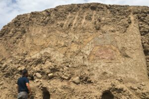 В Перу нашли храмовую фреску с изображением бога-паука: ей 3200 лет
