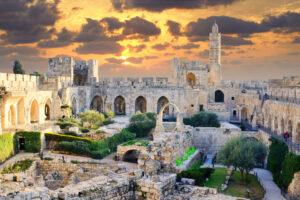 В Башне Давида нашли монету с портретом древнего божества