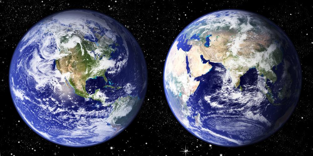 Одна сторона Земли остывает быстрее