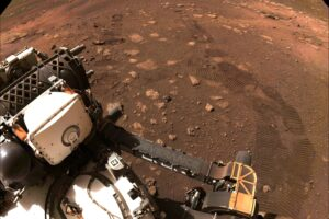 Perseverance впервые проехался по поверхности Марса