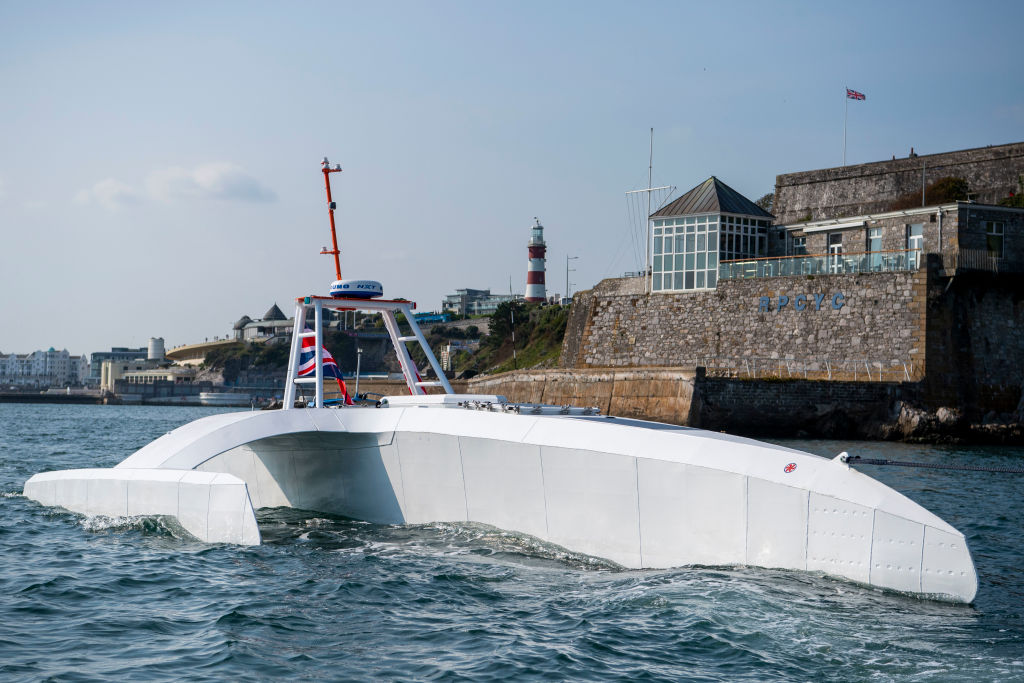 Автономный корабль «Mayflower» пересечет Атлантику без экипажа