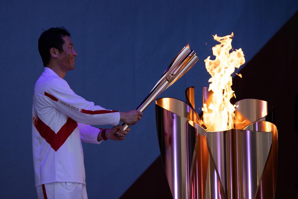 В Японии стартовала эстафета олимпийского огня.Вокруг Света. Украина