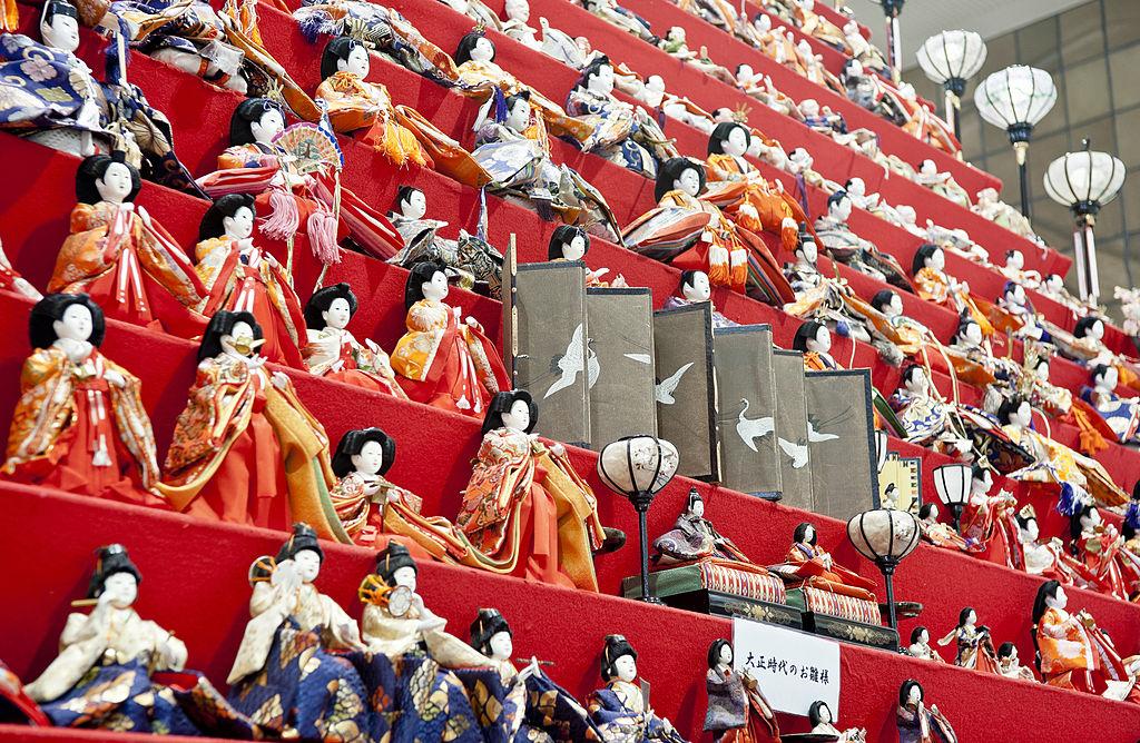 Хинамацури День кукол Япония