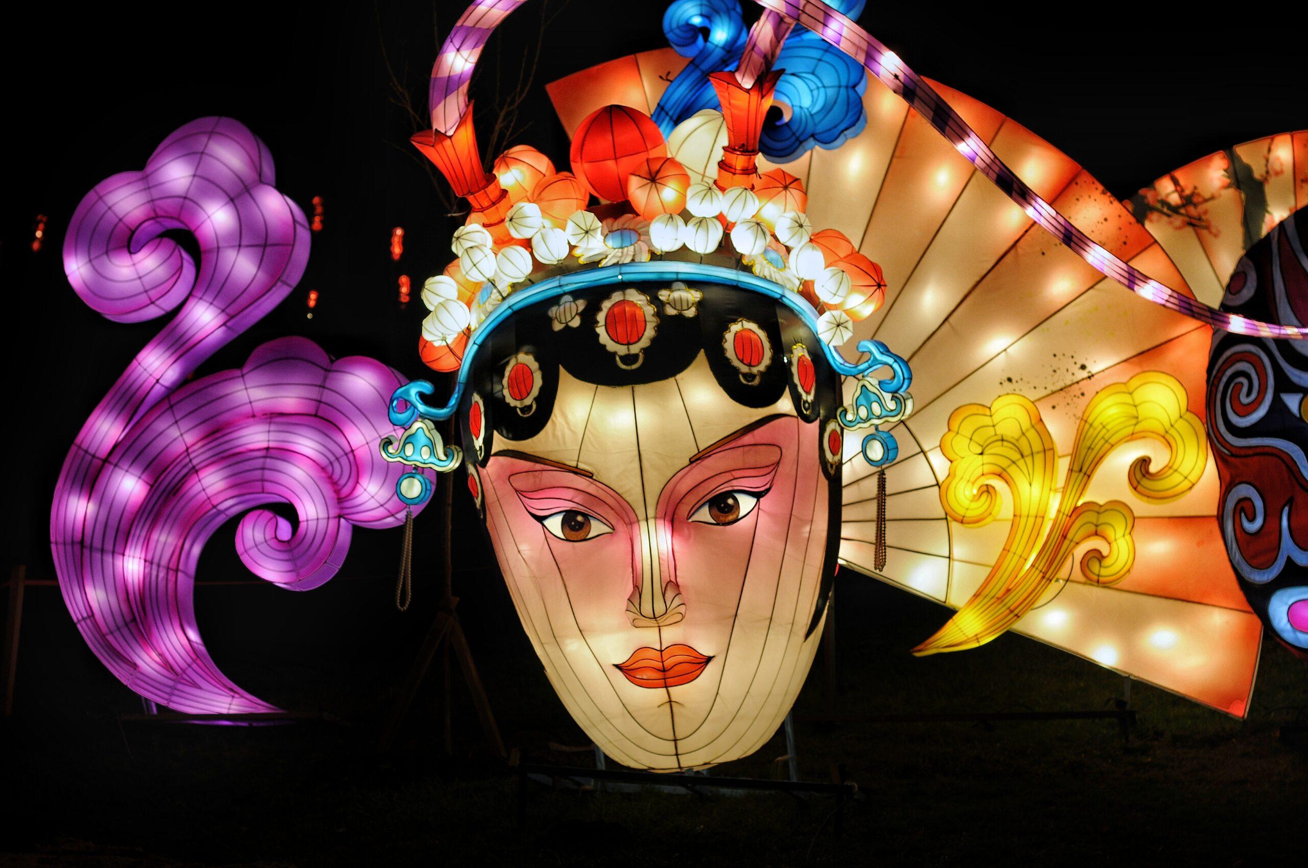 Граждане льготных категорий смогут посетить Фестиваль китайских фонарей в Киеве бесплатно.Вокруг Света. Украина