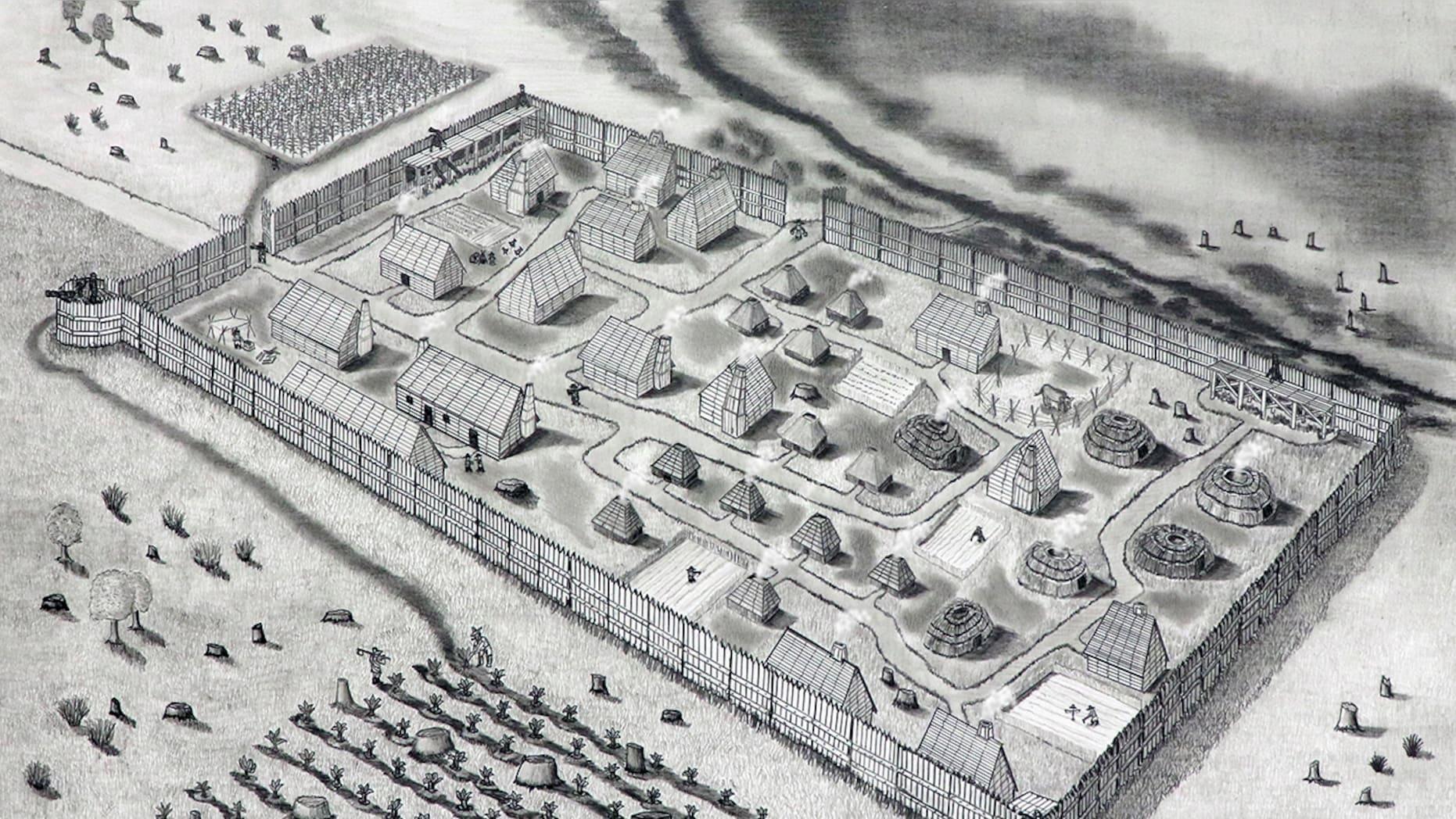 В США георадар отыскал потерянный форт первых колонистов.Вокруг Света. Украина
