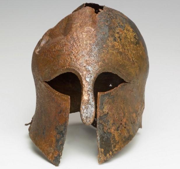 В Израиле нашли шлем древнегреческого воина.Вокруг Света. Украина