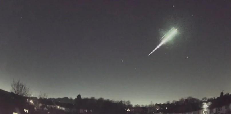 В Великобритании упал метеорит со следами жизни