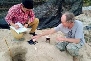 Камбоджийские королевские черепахи впервые отложили яйца в неволе