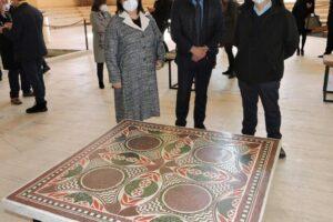 В Италию вернули мозаику Калигулы