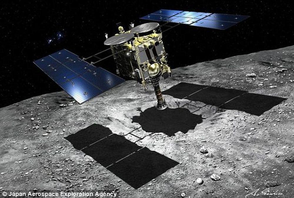 На некоторых астероидах есть все, что нужно для возникновения жизни