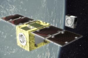 В космос запустили первый спутник для удаления космического мусора