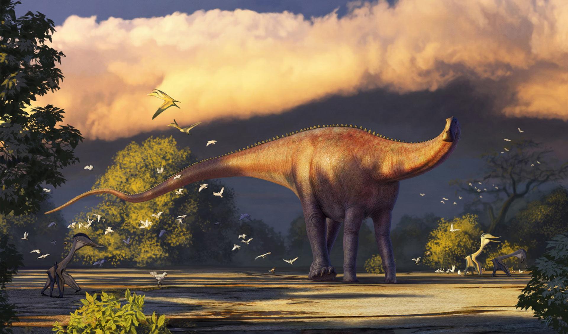 В Узбекистане обнаружили останки огромного динозавра-зауропода