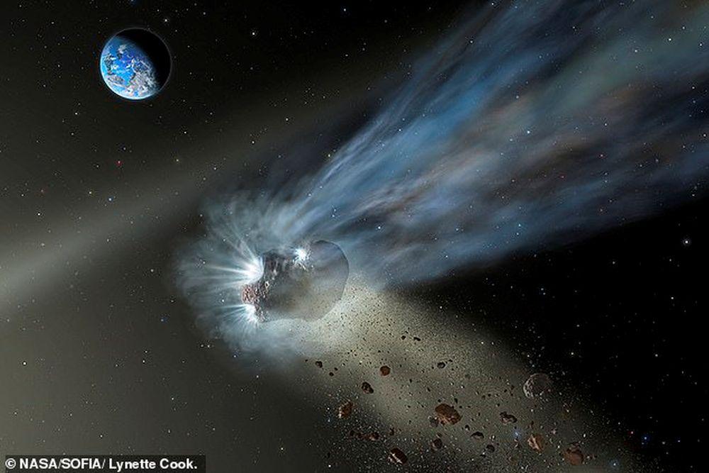 Как кометы могли запустить эволюцию жизни на Земле.Вокруг Света. Украина