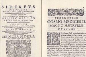 В Испании похитили рукопись Галилея 1610 года