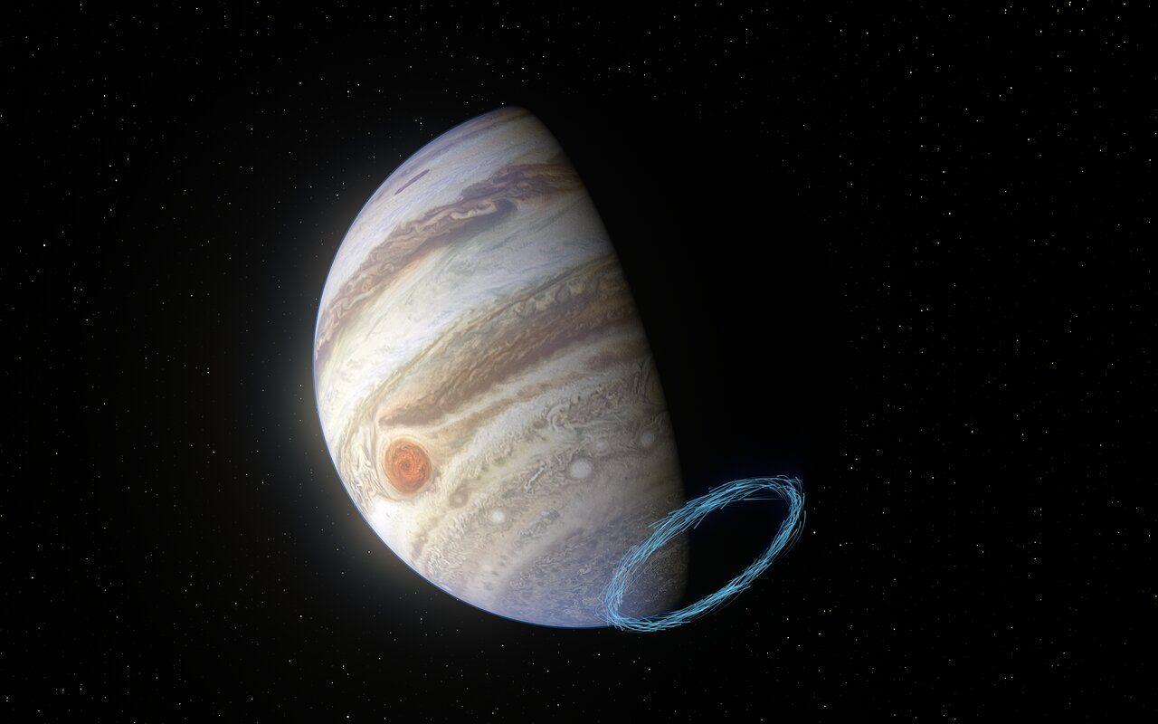 Ветры на Юпитере втрое быстрее, чем торнадо на Земле