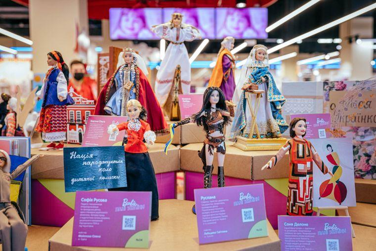 Куклы Барби стали известными украинками