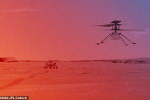 Марсианский вертолет NASA Ingenuity начнет полеты в конце марта – начале апреля