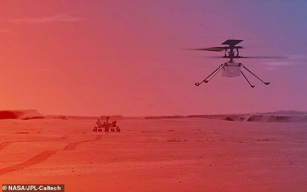 Марсианский вертолет NASA Ingenuity начнет полеты в конце марта – начале апреля.Вокруг Света. Украина