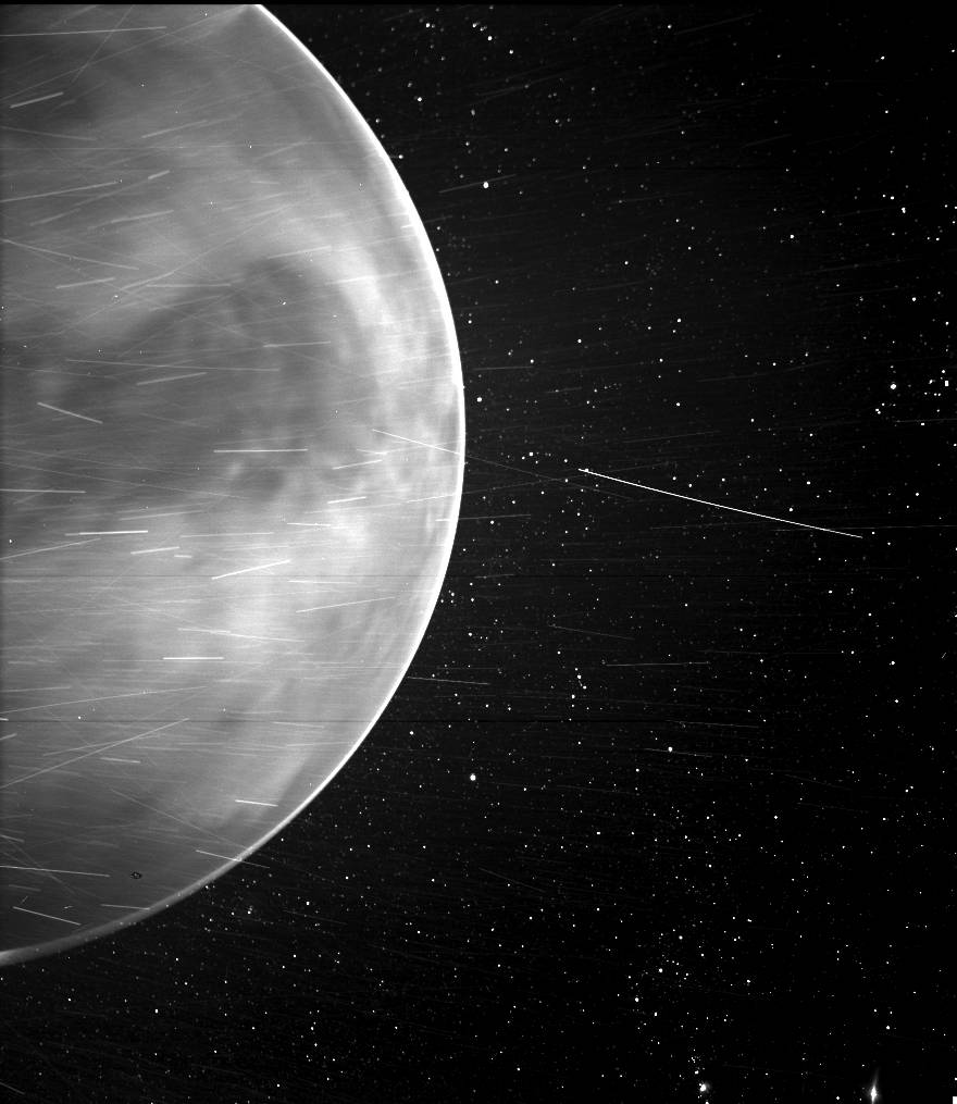 Солнечный зонд Parker заглянул за атмосферу Венеры.Вокруг Света. Украина
