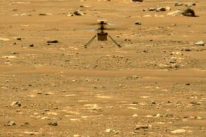 Вертолет NASA совершил на Марсе еще один полет