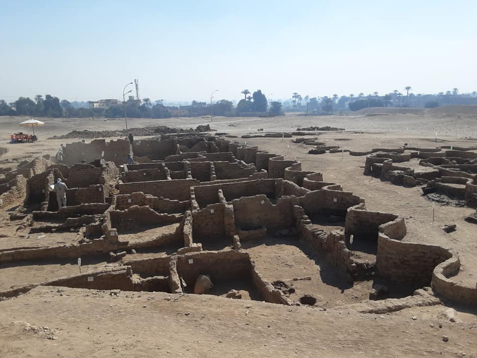 Недалеко от Луксора найден большой неизвестный город: ему 3400 лет.Вокруг Света. Украина