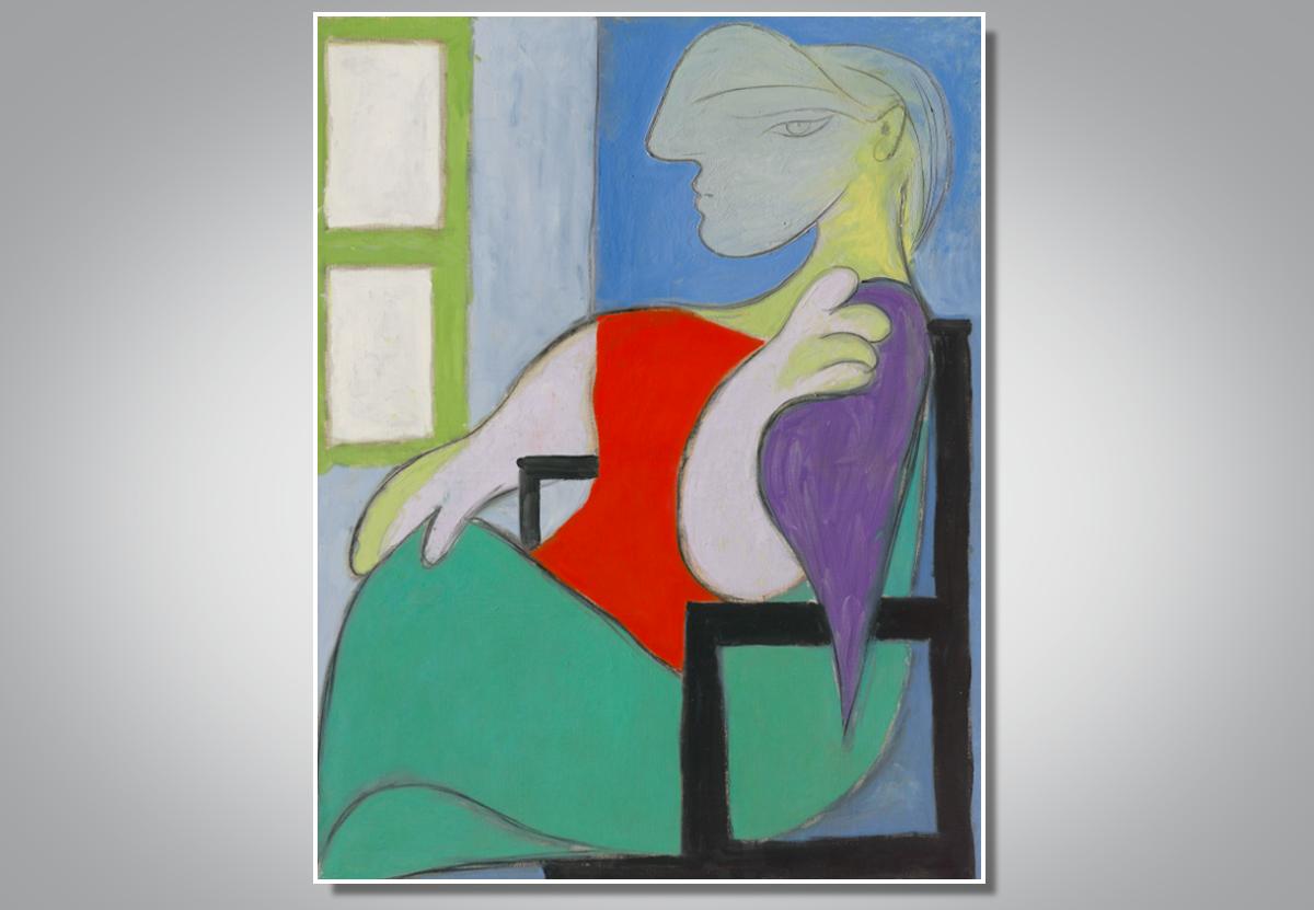 Портрет юной любовницы Пикассо выставят на торги за $55 млн.Вокруг Света. Украина