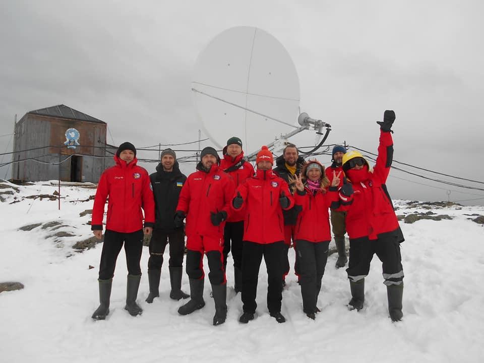 Украинские полярники провели онлайн-экскурсию по станции «Академик Вернадский»
