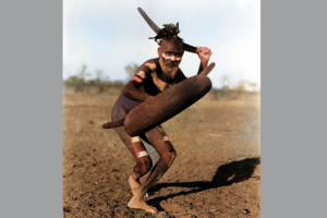 Аборигены Австралии использовали бумеранг не только для метания