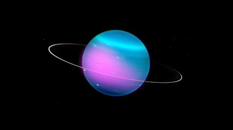 Астрономы NASA зафиксировали рентгеновское излучение Урана