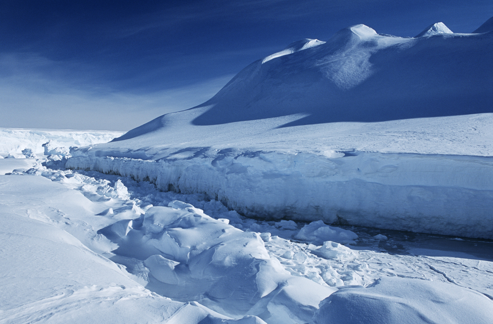 Антарктика может потерять треть шельфового льда из-за потепления.Вокруг Света. Украина