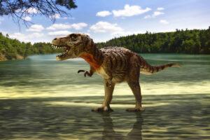Палеонтологи узнали, сколько тираннозавров ходило по Земле