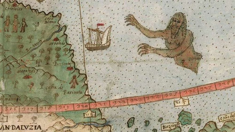 Легенды о морских чудовищах: кого на самом деле видели моряки?.Вокруг Света. Украина