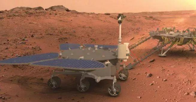 Первый китайский марсоход назвали в честь бога огня.Вокруг Света. Украина