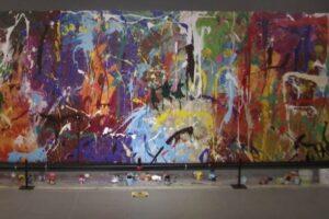 В Сеуле влюбленные приняли инсталляцию за раскраску и испортили картину за $ 440 тысяч