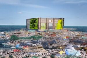 Converse открыл виртуальный магазин на Большом мусорном пятне в Тихом океане