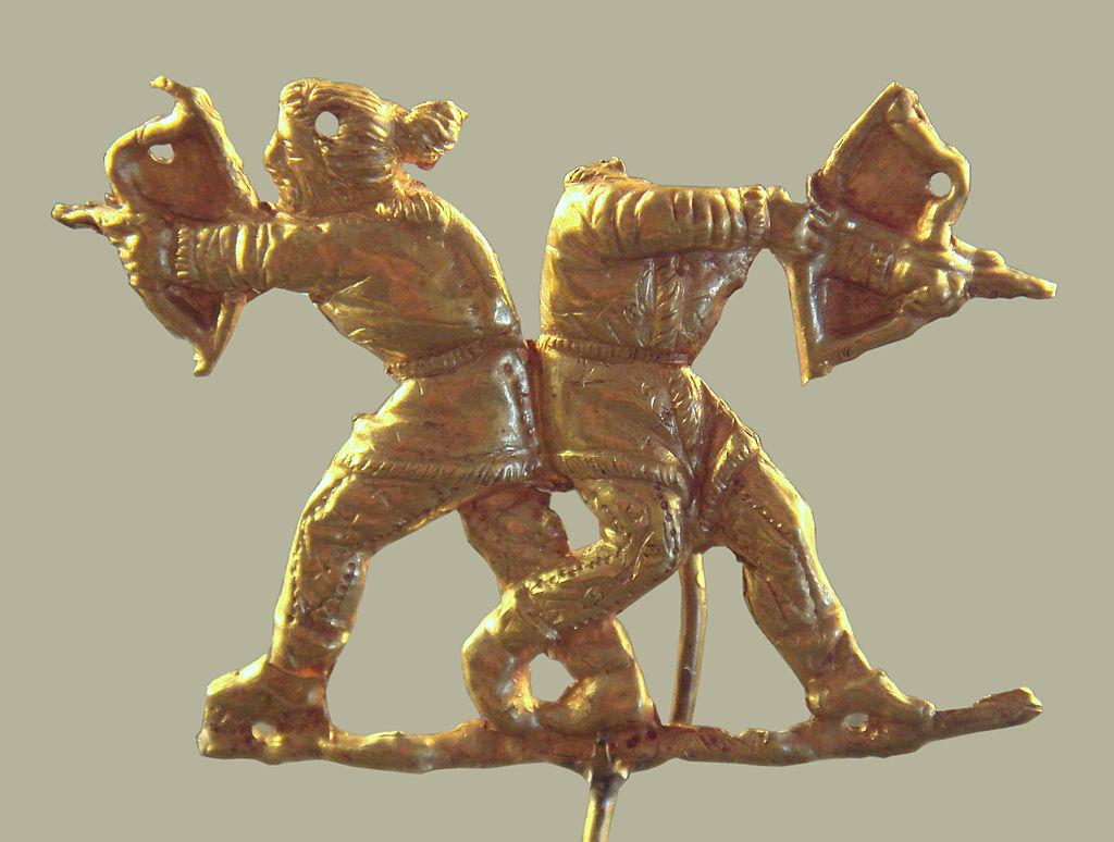 Украинские археологи отлили наконечники стрел по скифским технологиям