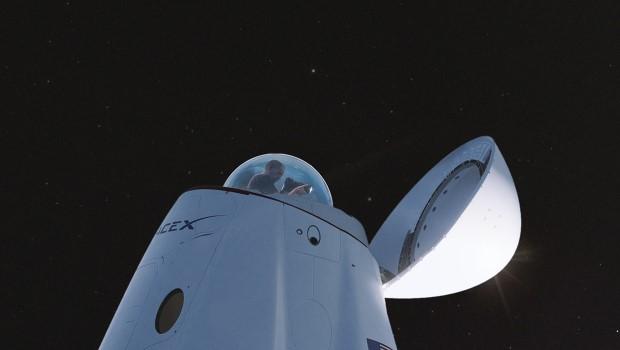 Простые люди и стеклянный купол: каким будет первый туристический полет Crew Dragon
