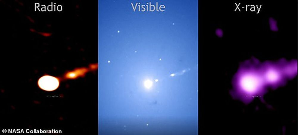 Новые изображения черной дыры проливают свет на происхождение космических лучей