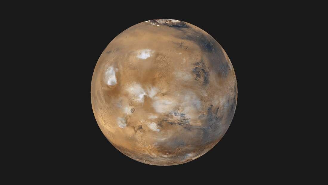 В древности Марс согревали ледяные облака.Вокруг Света. Украина