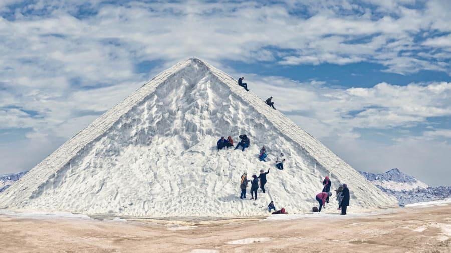 «Снежные» горы Египта стали туристическим хитом соцсетей